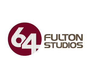 Logo design for 64 Fulton Studios