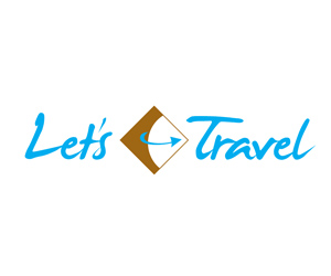 Let's Travel Logo Design