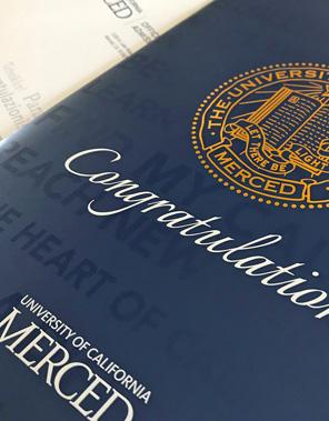 UC Merced Admit Packet